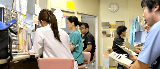 大学病院(基本的な産婦人科技術)
